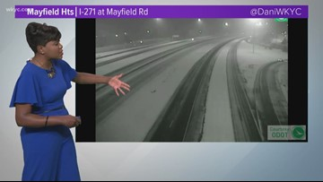 Wintry blast hits Northeast Ohio: 4 a.m. weather conditions for Nov. 12, 2019