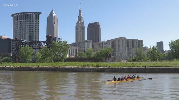 50 years after catching on fire, the Cuyahoga River has become a recreation destination