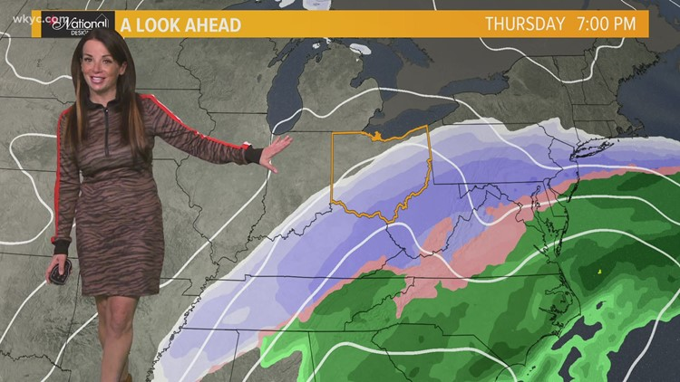 Snow and cold temps continue to hit Northeast Ohio