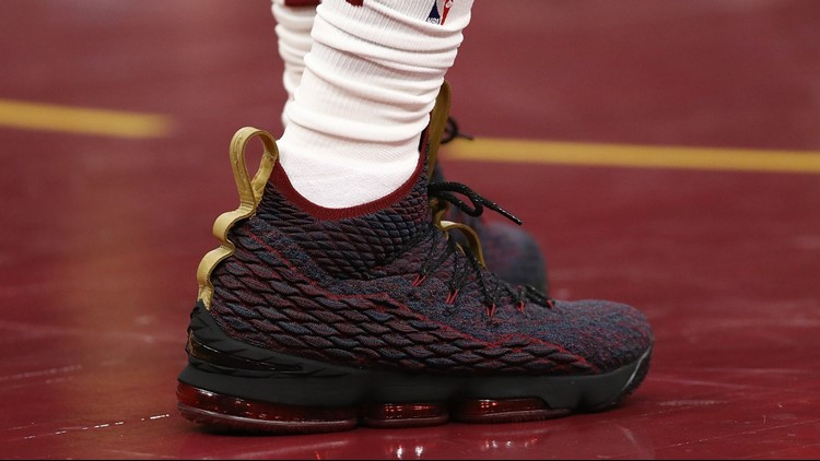 90cab719533f LeBron James has taken his shoe game to another level this season ...