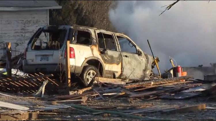 Vermilion Darrow Road house explosion