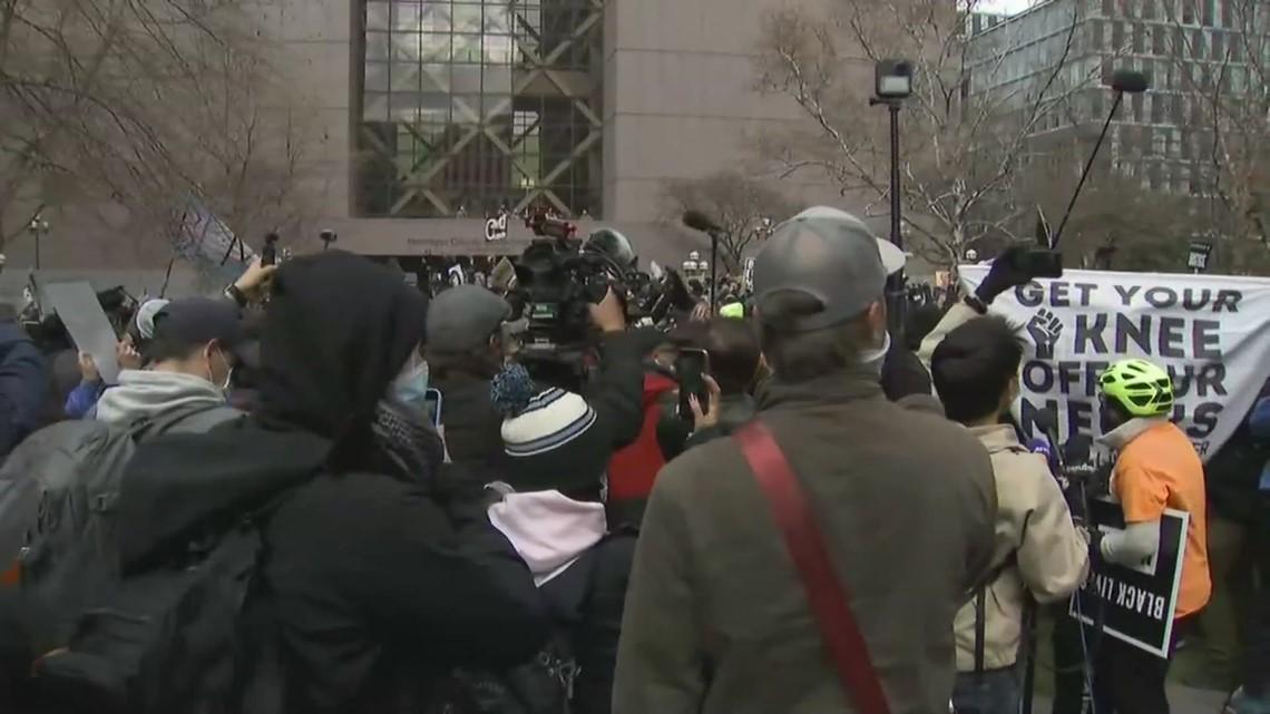 Reaction in Minneapolis: Derek Chauvin Found Guilty of Murdering George Floyd
