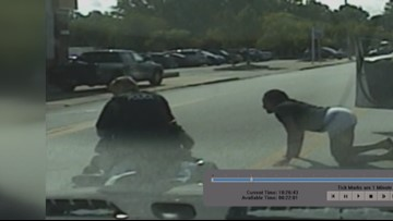 Euclid police release dash cam video from controversial