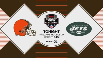 Monday Night Football to air on WKYC as Cleveland Browns battle the New York Jets tonight