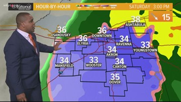 FORECAST | Rain and snow coming this weekend