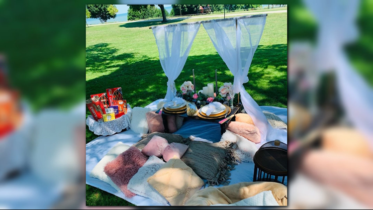 Black Light: Cleveland woman provides hassle-free picnics to couples, groups
