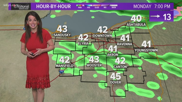 FORECAST   Cooler air moves in