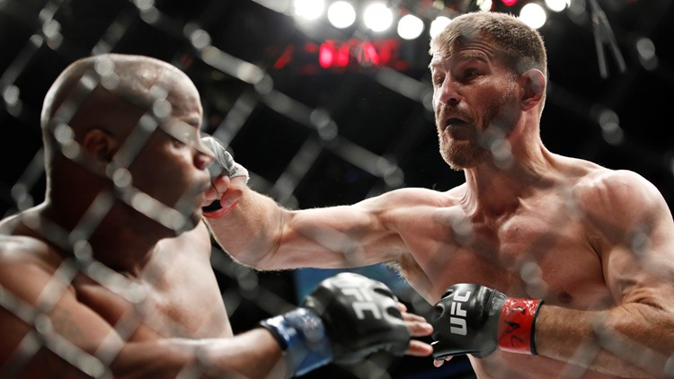 Stipe Miocic Daniel Cormier UFC 226 Mixed Martial Arts
