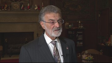 Mayor Frank Jackson did not ask officers at his home to turn off body cams, Cleveland Police say