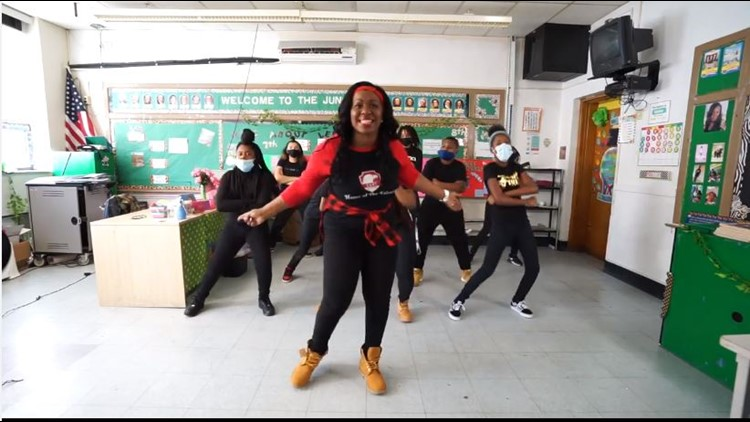 Cleveland teacher unleashes music video for students returning to in-person learning
