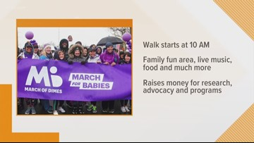 March for Babies Today