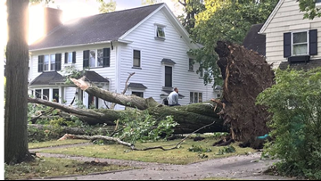 Show us your storm damage aftermath pictures following Friday's severe weather in Northeast Ohio; GALLERY