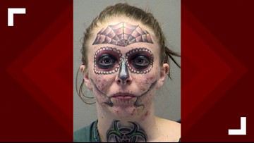 Ohio Woman With Unique Face Tattoos Arrested For Third Time