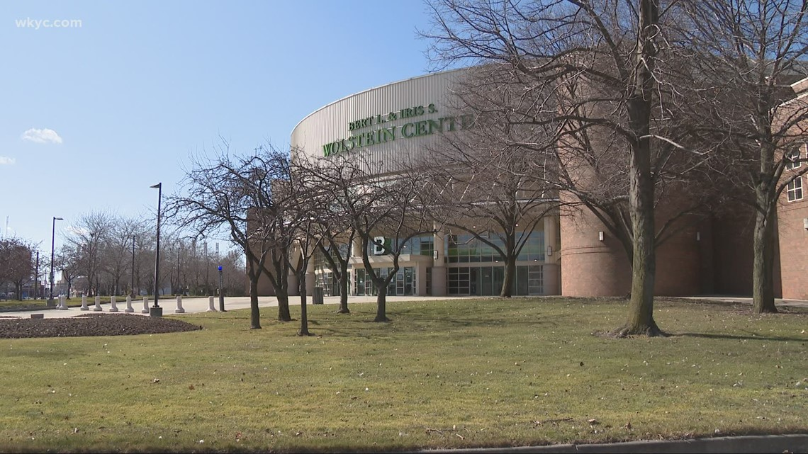 Ohio's first mass vaccination clinic will be at the Wolstein Center
