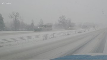 Winter storm hits Summit County with heavy snow