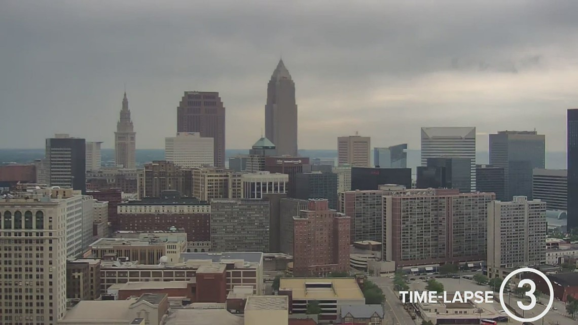 Saturday Cleveland weather time-lapse for June 19, 2021