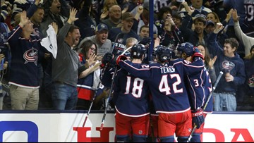 "Blue Jackets out to make football town ""a great hockey city,"" too"
