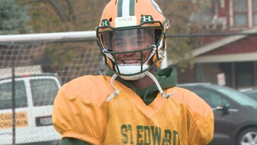 St. Edward receiver shining in return to gridiron
