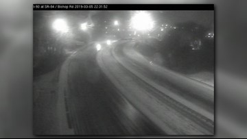 I-90 west reopens after accidents close portions of highway in Lake County