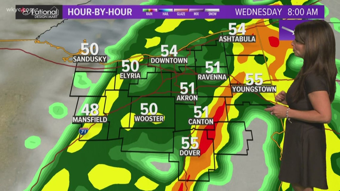 Morning weather forecast for Northeast Ohio: October 16, 2019