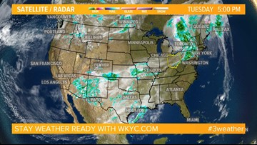 Weather across the nation on April 23, 2019