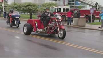 Dozens honor the fallen at 15th annual Firefighters Memorial Ride