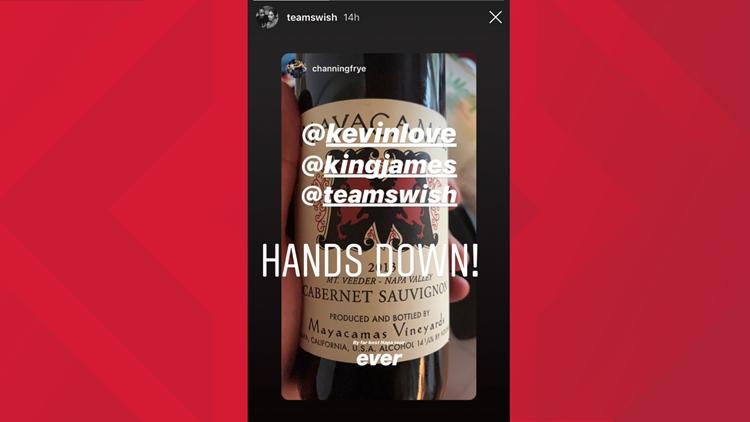 J.R. Smith shares his love for Mayacamas wine.