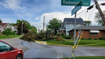 PHOTOS | Significant damage reported as storms make their way across Northeast Ohio