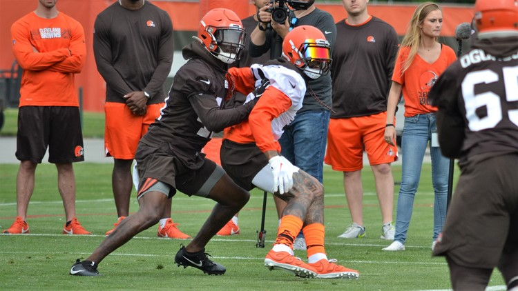 Odell Beckham Jr. Cleveland Browns Minicamp June 4, 2019