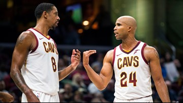 Channing Frye, Richard Jefferson congratulate 'ball hog' LeBron James on passing Michael Jordan