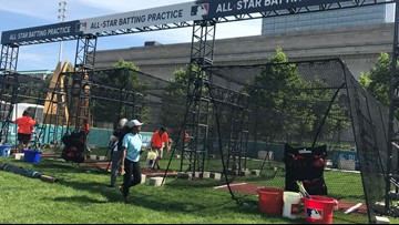 Outdoor portion of Cleveland's PLAY BALL Park closed due to