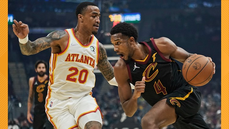 Evan Mobley has double-double, Cleveland Cavaliers beat Atlanta Hawks 101-95 for 1st win
