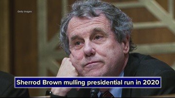 Sen. Sherrod Brown says he will consider 2020 presidential run