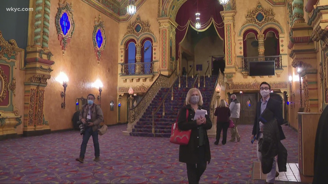 Civic Theatre unveils newly renovated Grand Lobby in Akron
