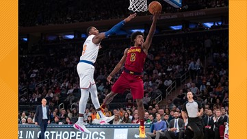 Collin Sexton scores 31, Cleveland Cavaliers beat New York Knicks 108-87