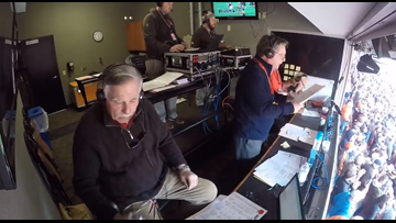 WATCH | Jim Donovan and Doug Dieken call Denzel Ward's interception return for touchdown in Cleveland Browns win over Cincinnati Bengals