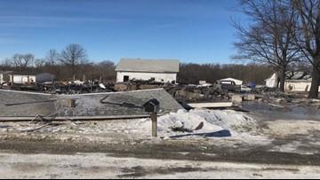 Donations pour in for family who lost everything in Vermilion home explosion