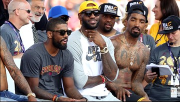 J.R. Smith weighs in on Kyrie Irving apologizing to LeBron James