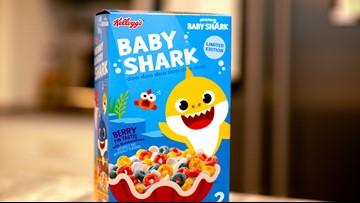 Baby shark cereal coming this month, doo doo doo doo