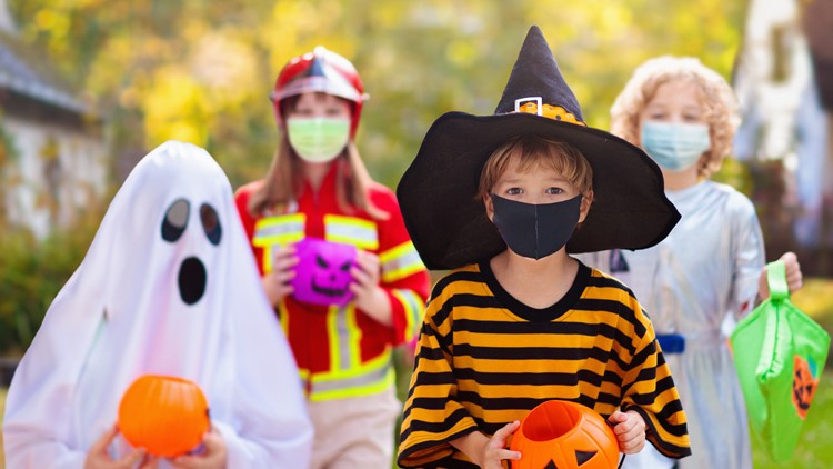 Tips for staying healthy while still trick-or-treating during a pandemic