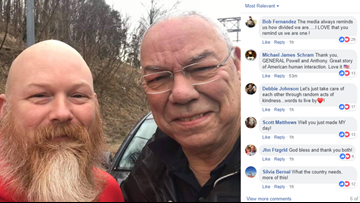 'You touched my soul:' Gen. Colin Powell said encounter with stranger who helped change his flat tire reminded him of America's greatness