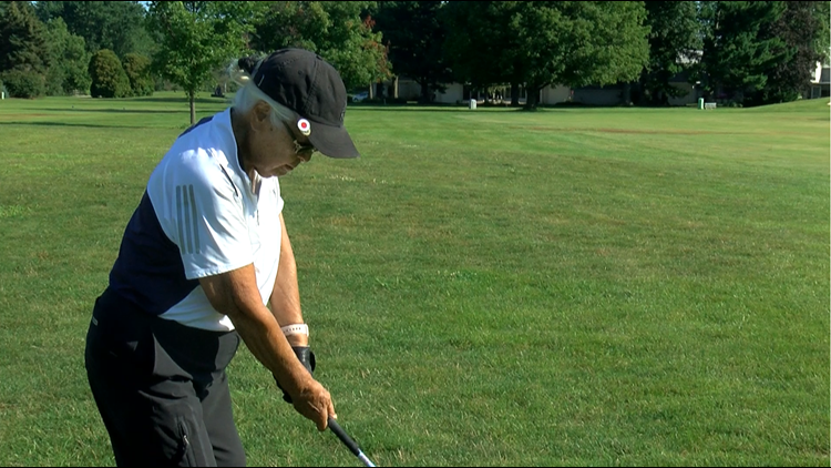 93-year-old Ohio golfer still an ace on the course