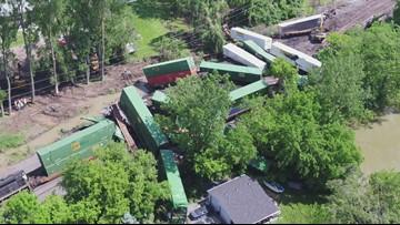 Train derailment in Northwest Ohio snarls main route between
