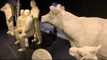 Legen-DAIRY: Ohio State Fair butter sculpture honors 50th anniversary of moon landing