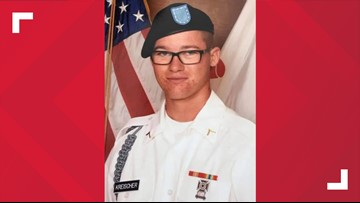 Body of Army Airborne member from Stryker killed in action brought home to United States