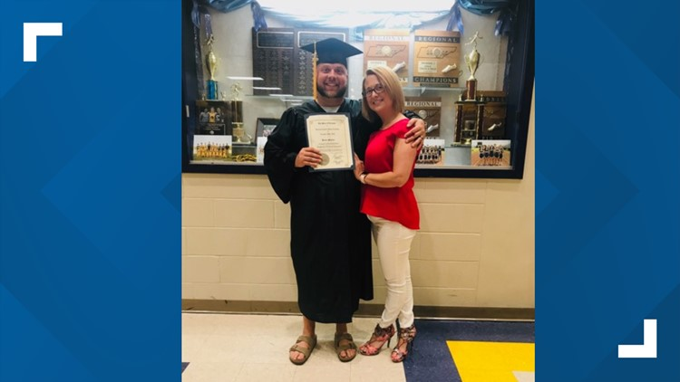 Brent Walker earns his GED