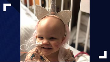 Same-sex parents claim to get hateful message amid daughter's cancer fight