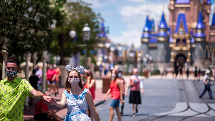 Walt Disney World guests can remove masks for outdoor photos starting April 8