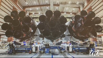 Early preview of SpaceX's Falcon Heavy launch