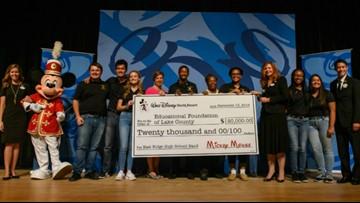 Disney World donates $20,000 to band program after fire destroys instruments